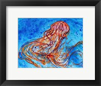 Framed Abstract Jellyfish