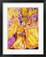 Framed Feather Dancer