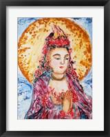 Framed Praying Buddha