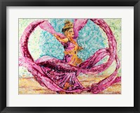 Framed Ribbon Dancer