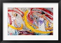 Framed Ribbon Dancers