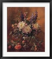 Framed Garden Flowers