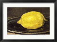 Framed Lemon, 1880