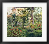 Framed Garden at Bellevue, 1880