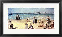 Framed Beach Scene