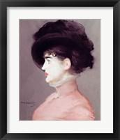 Framed La Viennoise: Portrait of Irma Brunner, c.1880