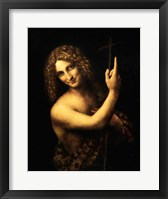 Framed St. John the Baptist, 1513-16