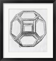 Polyhedron Framed Print