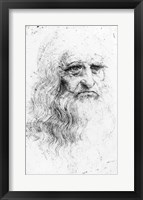Framed Self portrait
