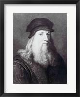 Framed Leonardo da Vinci