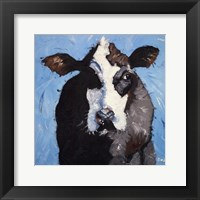 Framed Cow #302