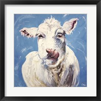 Framed Cow #300