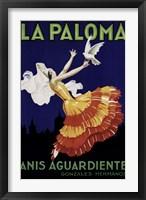 Framed La Paloma