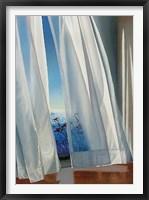 Framed Twilit Lilies