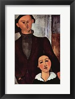 Framed Portrait of Jacques & Berthe Lipchitz