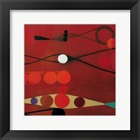 Framed Red Seed #34