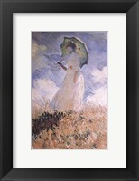 Framed Woman with Parasol
