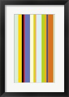 Framed Paprika Stripe
