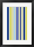 Framed Violet Stripe