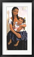 Framed Delfina Flores and her Niece Modesta