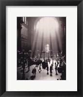 Framed Penn Station