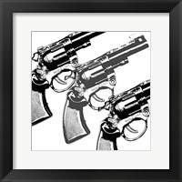 Bang, bang Framed Print