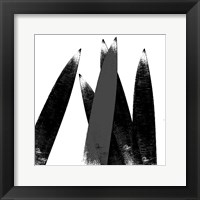 Sharp Edges Framed Print