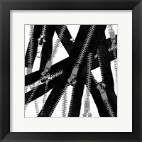 Unzipped Framed Print