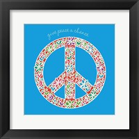Give Peace a Chance Framed Print