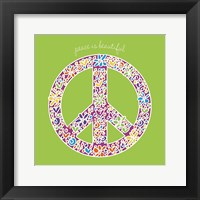 Framed Peace is Beautiful