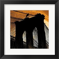 Brooklyn Glow Framed Print