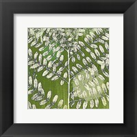 Forest Leaves Framed Print