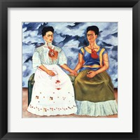 Framed Two Fridas, 1939