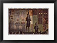 Framed Circus Sideshow