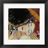 Framed Kiss (head detail)