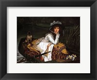 Framed Lady in a Boat