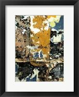 Framed Black & Gold Layers