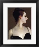 Framed Madame X (detail)