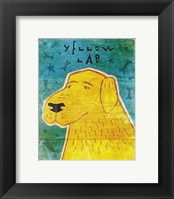 Framed Lab (yellow)