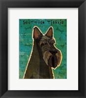 Framed Scottish Terrier