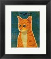 Framed Tabby (orange)