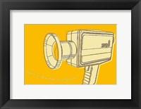 Lunastrella Super 8 Framed Print