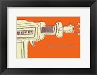 Lunastrella Raygun No. 1 Framed Print