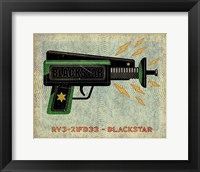 Framed Blackstar Ray Gun