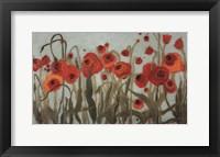 Framed Poppyfield II