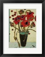 Framed Poppies with Snap Pods