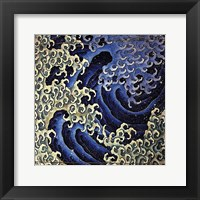 Framed Masculine Wave
