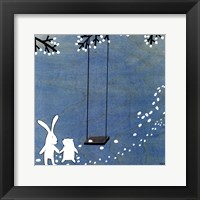 Follow Your Heart- Let's Swing Framed Print