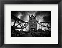 Framed London Tower Bridge