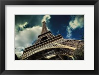 Framed Eiffel Tower (horizontal)